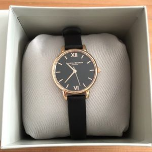 Olivia Burton Midi Black Dial Ladies Watch